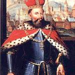Король Лев Данилович на тлі Львова.