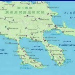 Greece-halkidiki-map