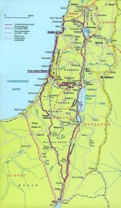 Izrail-Map