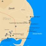dahab-map